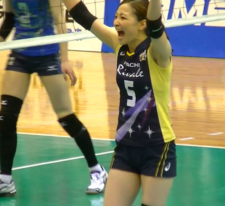 Volleyball players like itブログ佐藤あり紗 (59)