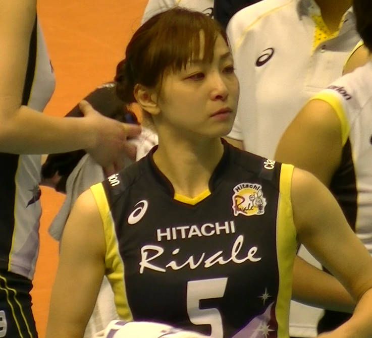Volleyball players like itブログ佐藤あり紗 (34)