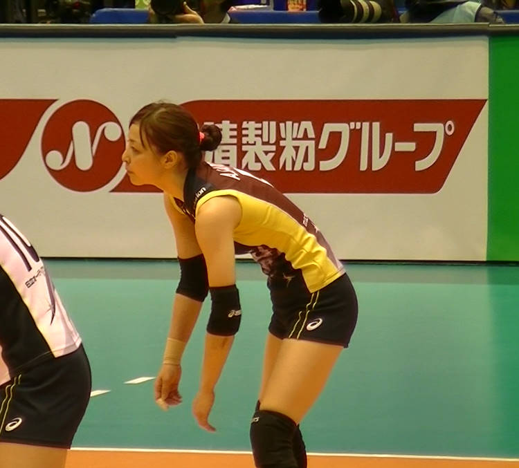 Volleyball players like itブログ佐藤あり紗 (11)