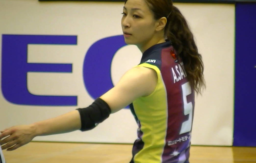 Volleyball players like itブログ佐藤あり紗 (61)