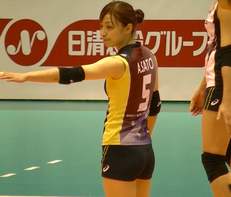Volleyball players like itブログ佐藤あり紗 (15)
