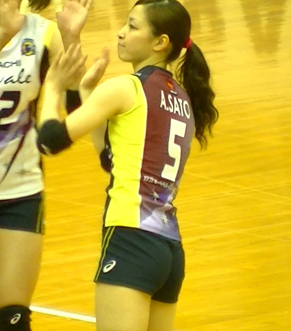 Volleyball players like itブログ佐藤あり紗 (53)
