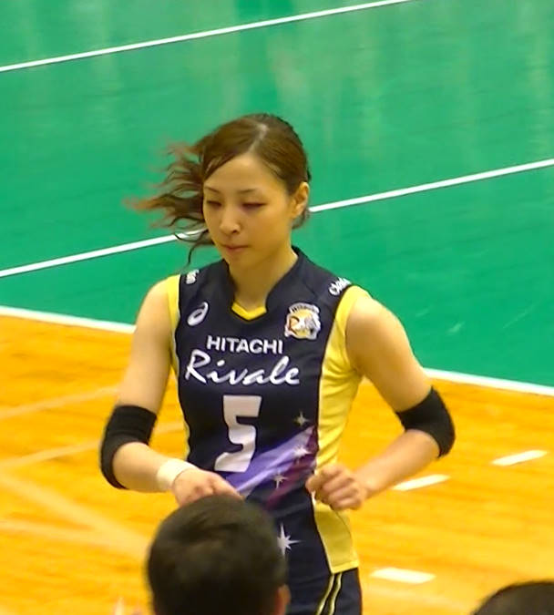 Volleyball players like itブログ佐藤あり紗 (64)