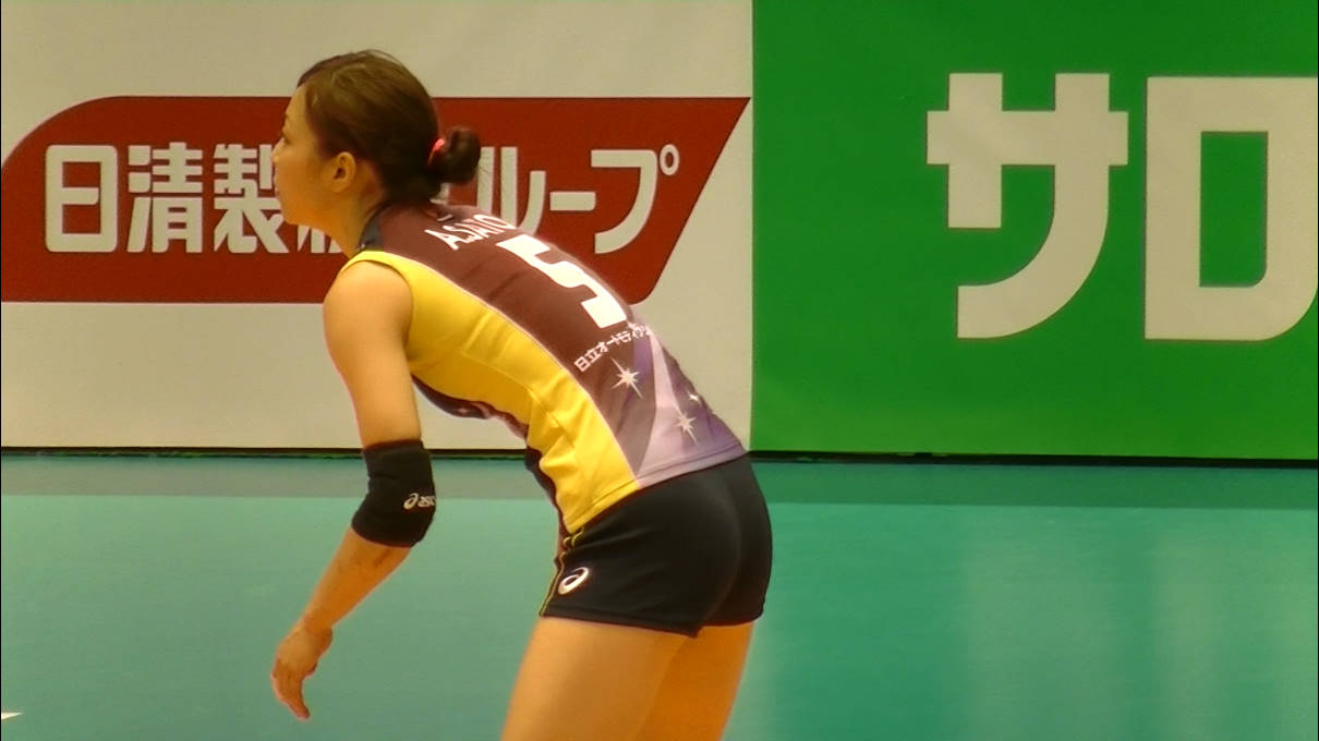 Volleyball players like itブログ佐藤あり紗 (1)