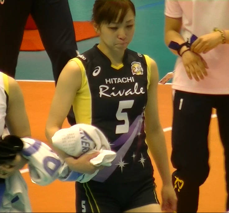 Volleyball players like itブログ佐藤あり紗 (30)