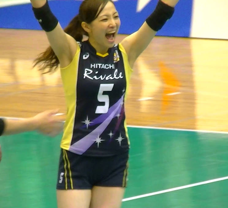 Volleyball players like itブログ佐藤あり紗 (60)