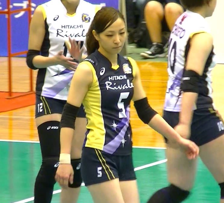Volleyball players like itブログ佐藤あり紗 (57)