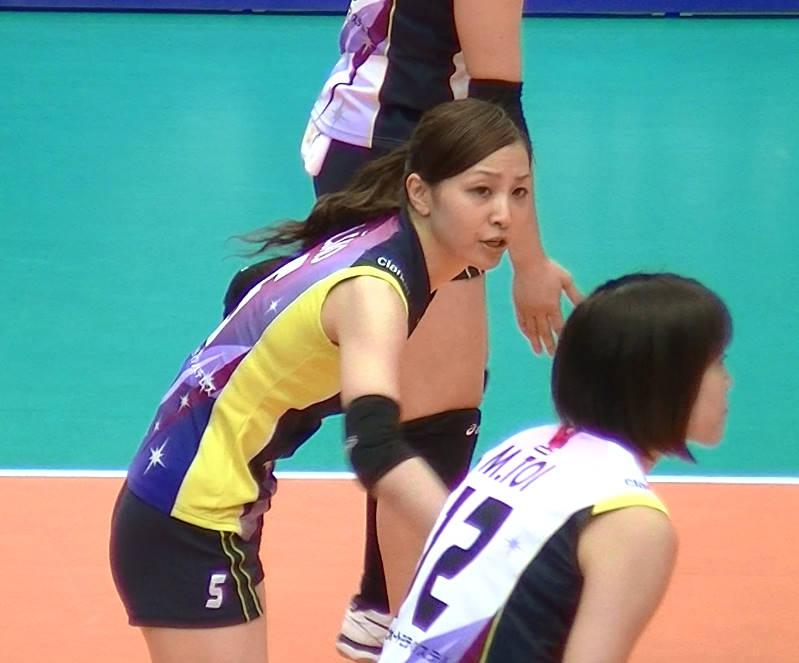 Volleyball players like itブログ佐藤あり紗 (43)