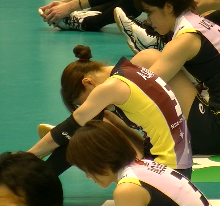Volleyball players like itブログ佐藤あり紗 (23)