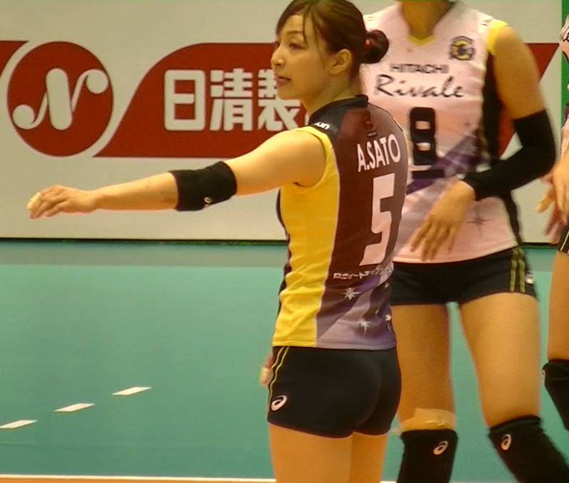 Volleyball players like itブログ佐藤あり紗 (14)