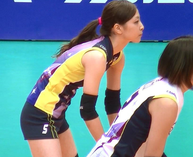 Volleyball players like itブログ佐藤あり紗 (47)