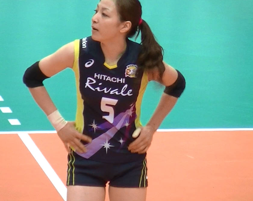 Volleyball players like itブログ佐藤あり紗 (39)