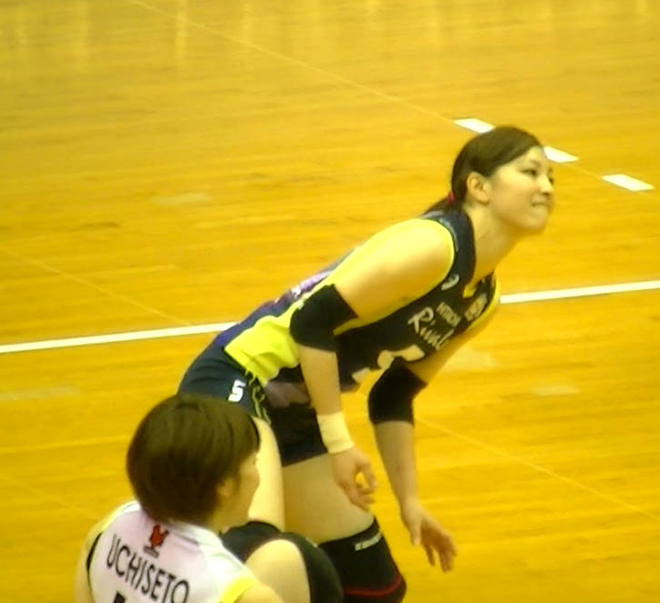Volleyball players like itブログ佐藤あり紗 (50)