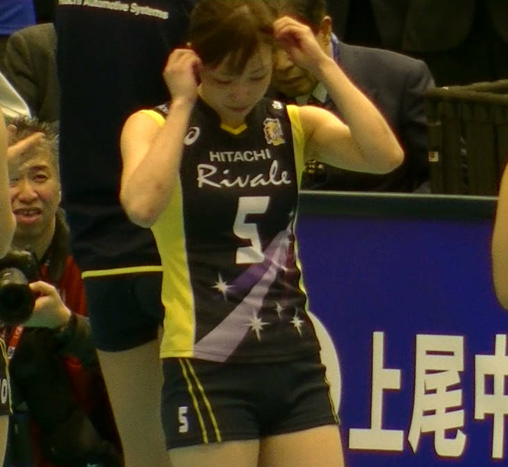 Volleyball players like itブログ佐藤あり紗 (29)