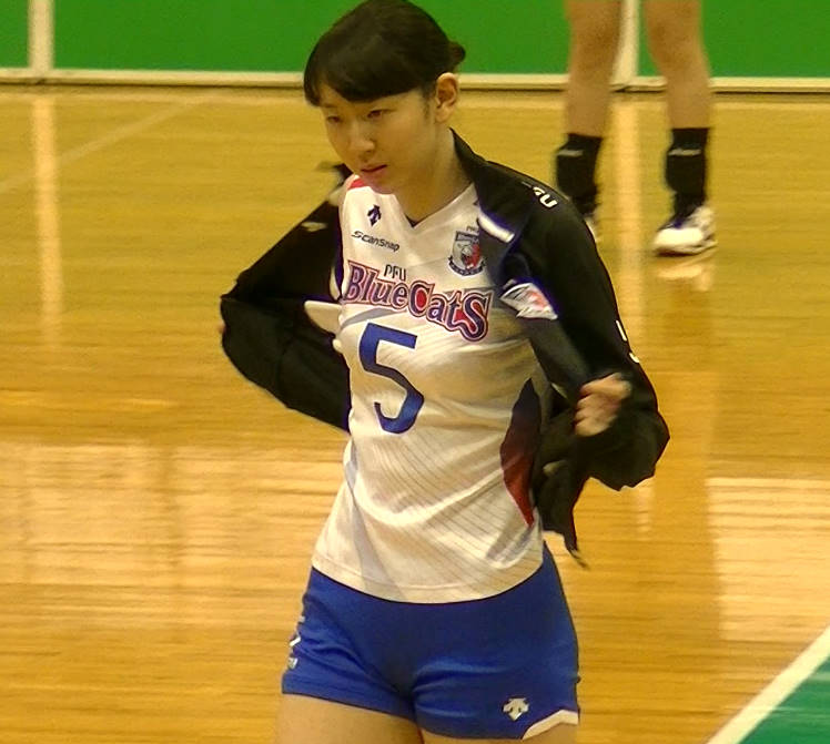 Volleyball players like it! ブログ江畑幸子 (4)