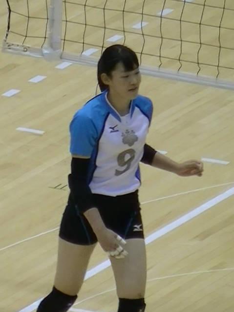 井上愛里沙選手