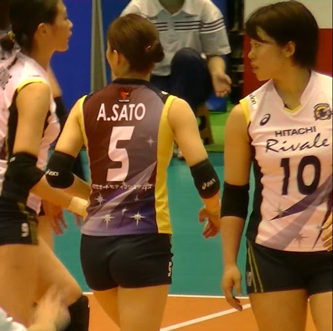 Volleyball players like itブログ佐藤あり紗 (2)