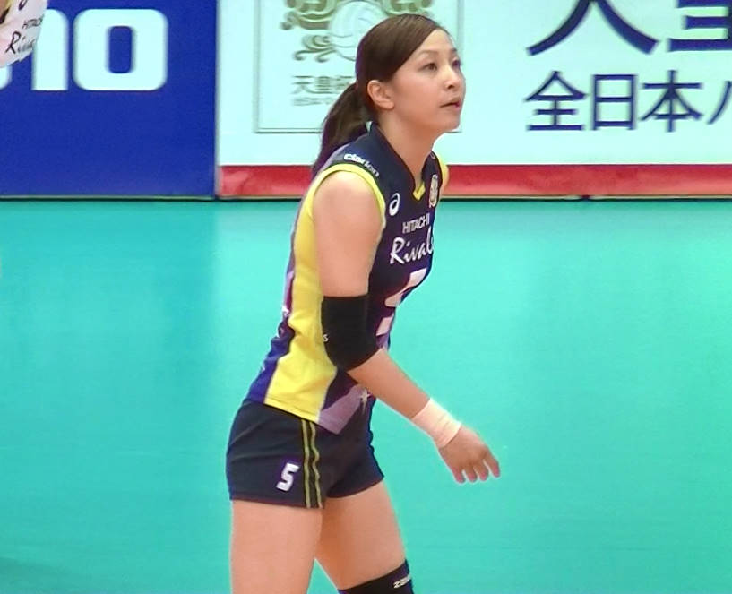 Volleyball players like itブログ佐藤あり紗 (45)