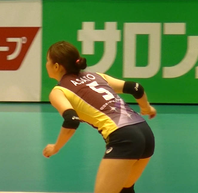 Volleyball players like itブログ佐藤あり紗 (4)