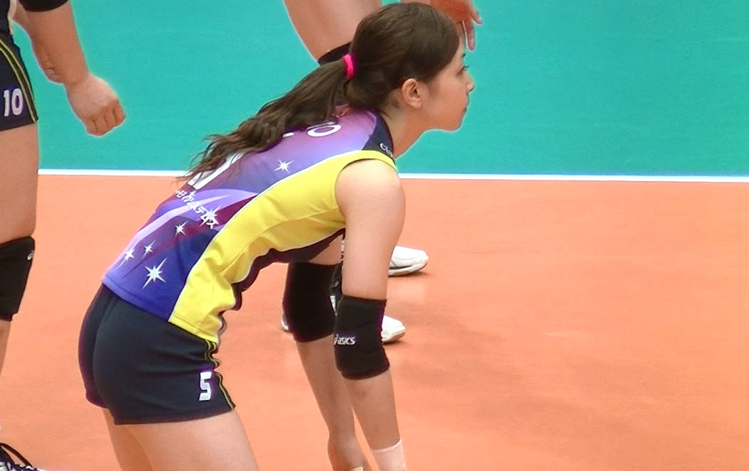 Volleyball players like itブログ佐藤あり紗 (49)