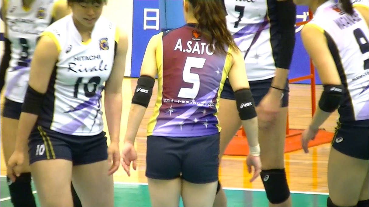 Volleyball players like itブログ佐藤あり紗 (54)