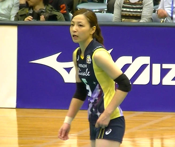 Volleyball players like itブログ佐藤あり紗 (58)