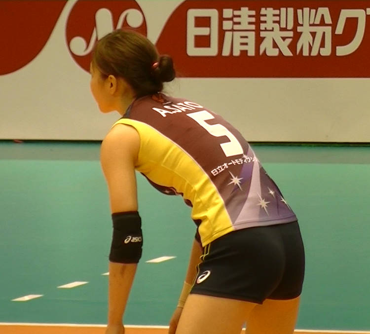 Volleyball players like itブログ佐藤あり紗 (10)