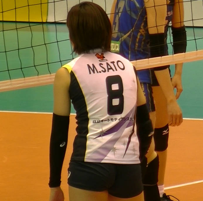 Volleyball players like itブログ佐藤美弥 (21)