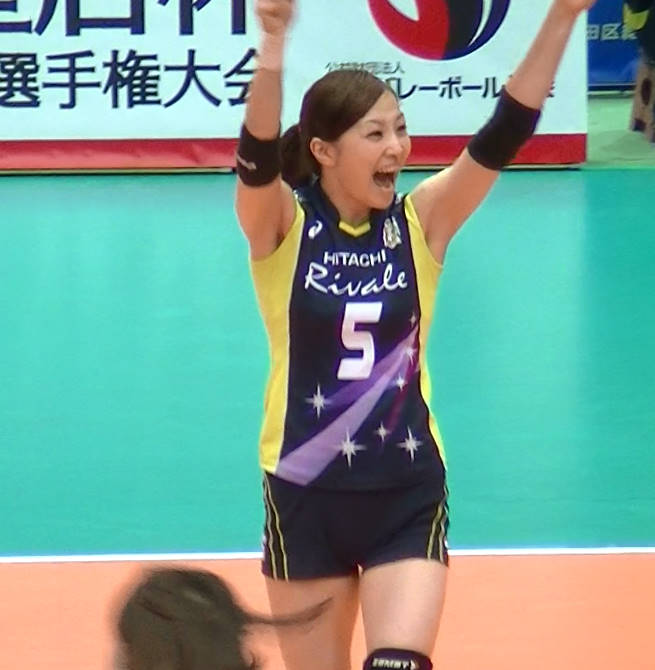 Volleyball players like itブログ佐藤あり紗 (38)
