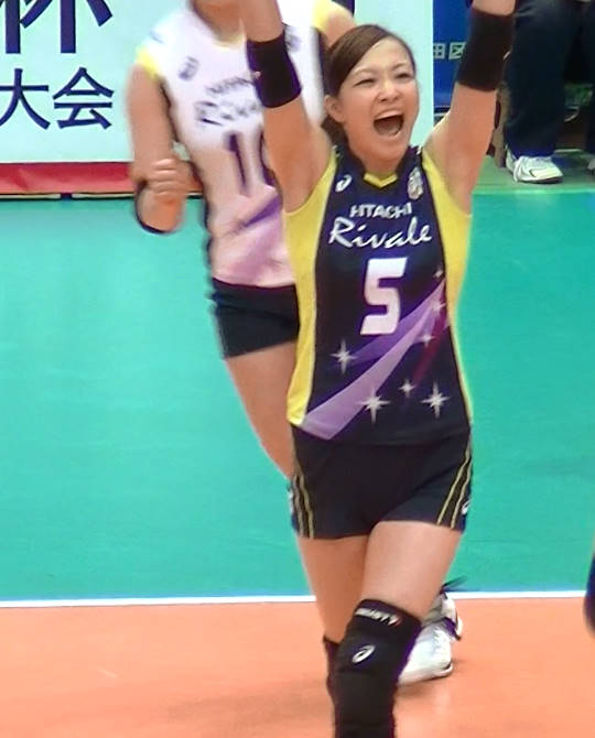 Volleyball players like itブログ佐藤あり紗 (37)