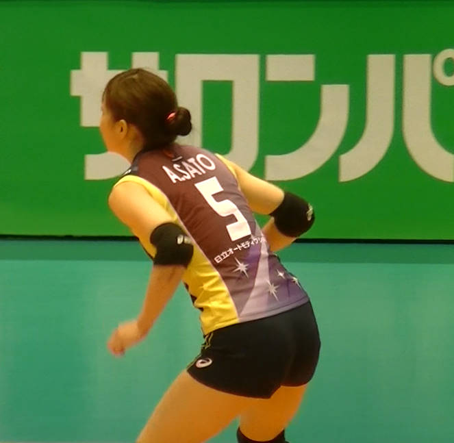 Volleyball players like itブログ佐藤あり紗 (5)
