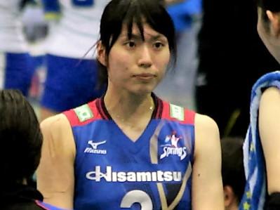 新鍋理沙選手(Risa Shinnabe)