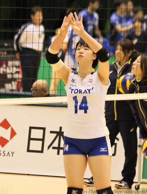 白井美沙紀選手