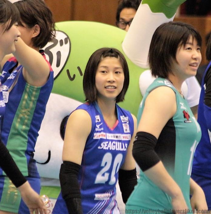 20番リベロ 丸山亜季選手(Aki Maruyama)