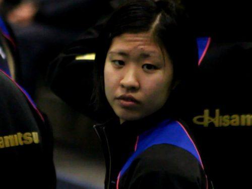 浮島杏加子選手