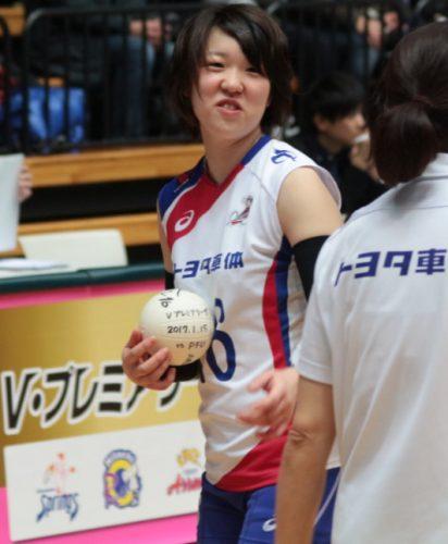 中屋夏澄選手