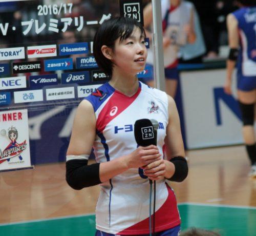 高橋沙織選手