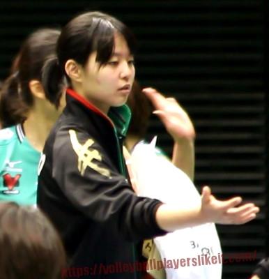 橋本梨紗選手