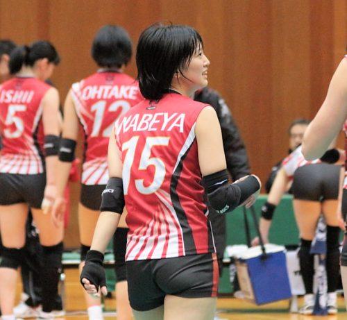 鍋谷友理枝選手 Yurie Nabeya