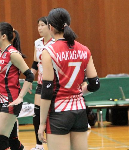 中川千世選手 Chitose Nakagawa