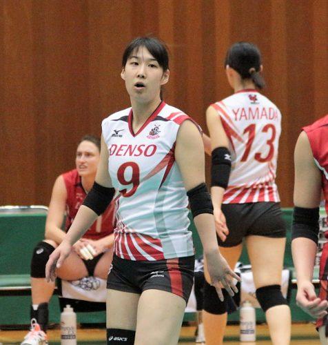 9 番 リベロ 小口樹葉選手 Mikiha Oguchi
