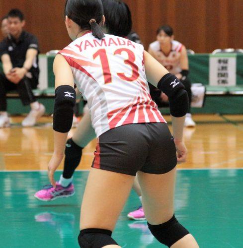 13 番 リベロ 山田美花選手 Mika Yamada