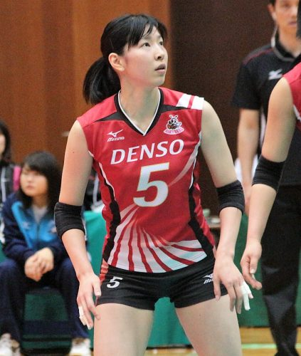 5 番 ミドルブロッカー 石井里沙選手 Risa Ishii