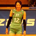 12番ウイングスパイカー 安藤典莉子選手(Noriko Ando)