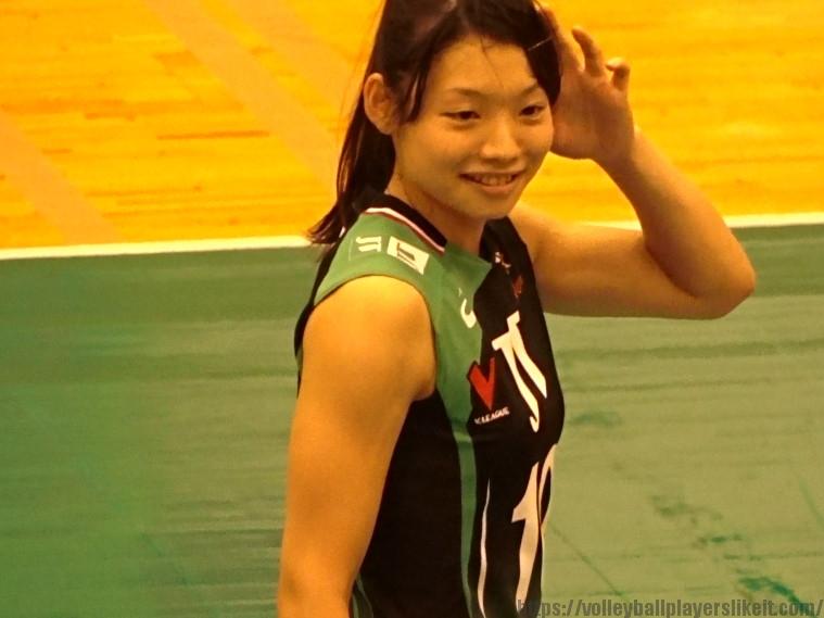 井上琴絵選手(Kotoe Inoue)JTマーヴェラス