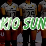 GSS東京サンビームズ【V・CHALLENGE LEAGUEⅡ GSS TOKIO SUNBEAMS】(Japan Volleyball Professional league)