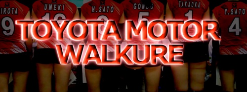 トヨタ自動車ヴァルキューレ【V・CHALLENGE LEAGUEⅠ TOYOTA MOTOR WALKURE】(Japan Volleyball Professional League)