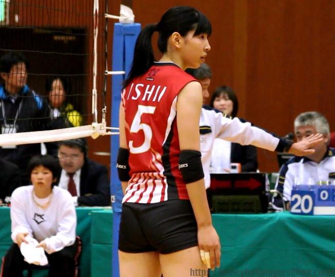 石井里沙選手(Risa Ishii)デンソーエアリービーズ