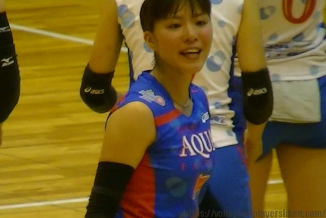 7番リベロ 駒井士峰選手(Hitomi Komai)