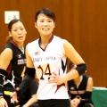14番リベロ 鶴ケ崎佳寿葉選手(Kazuha Tsurugasaki)